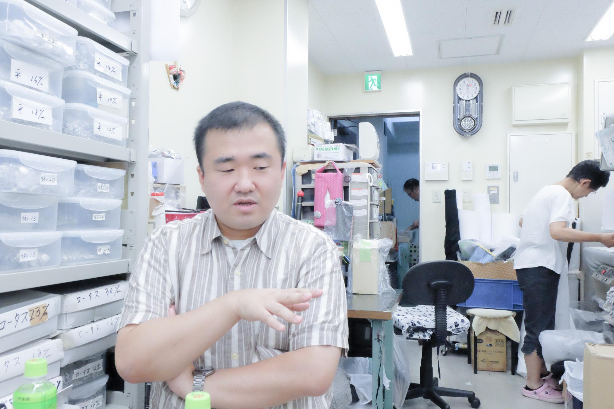 片岡清高さん(くるみボタンのMISUZUYA)