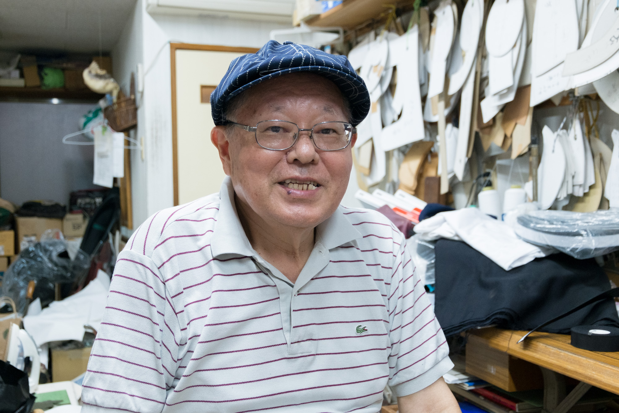 平島 征さん(ヒラジマ 帽子製造)